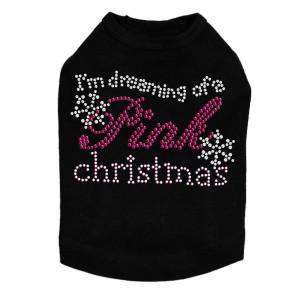 I'm Dreaming of a Pink Christmas - Black Dog Tank