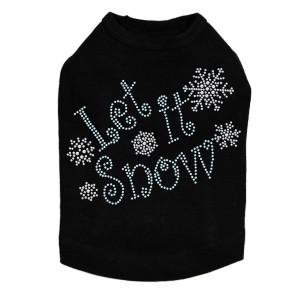 Let it Snow Dog Tank