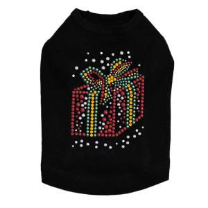 Red Christmas Gift - Black Dog Tank