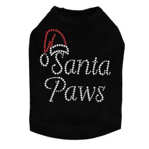 Santa Paws - Black Dog Tank