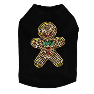 Gingerbread Man - Black Dog Tank