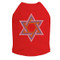 Star of David (Large- Blue, Silver, & Gold) Dog Tank