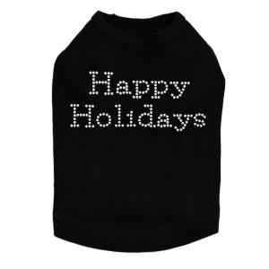 Happy Holidays Dog Tank