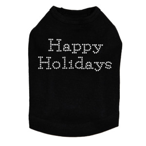 Happy Holidays - Black Dog Tank
