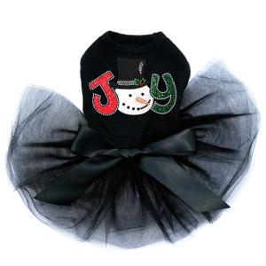 Joy Snowman  - Black Tutu