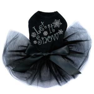 Let it Snow - Black Tutu