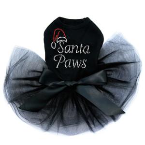 Santa Paws  - Black Tutu