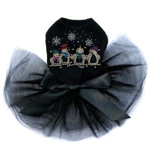 Snowman Family - Black Tutu