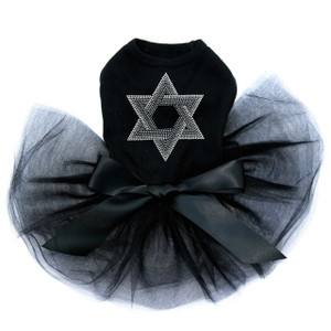 Star of David (Crystal and Gray) Tutu