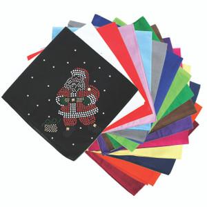 Santa with Snowflakes - Bandanna