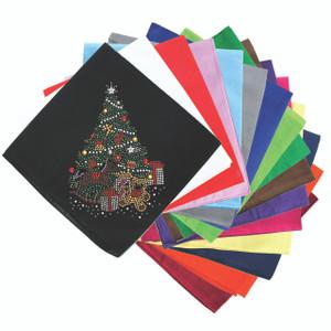 Christmas Tree #2 with Teddy Bear - Bandanna
