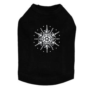 Snowflake #2  - Black Dog Tank