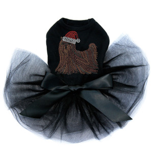 Yorkie with Santa Hat - Tutu for Big and Little Dogs
