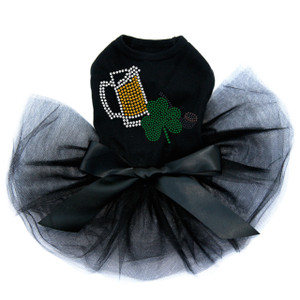 Beer Mug, Clover & Pipe dog tutu for large and small dogs.