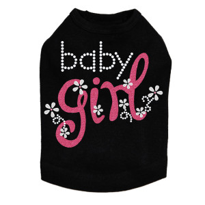 Baby Girl dog tank for large and small dogs.