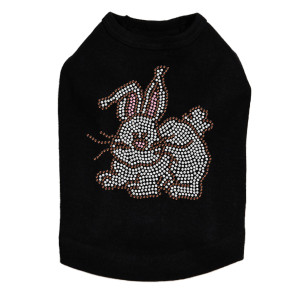 Easter Bunny dog tank for large and small dogs.
