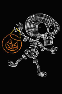 Trick or Treat Skeleton - Women's T-shirt