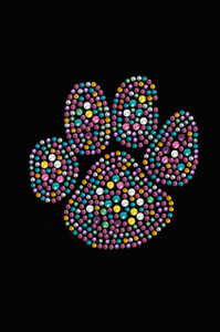 Multicolor Paw - Women's T-shirt