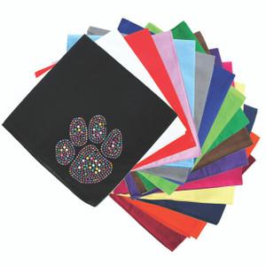 Paw (Multicolor) Bandanna