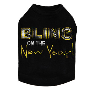 Bling on the New Year - Dog Tank