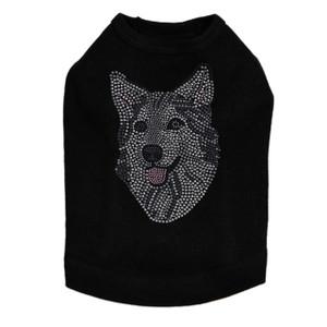 Husky/Tamaskan Face Dog Tank
