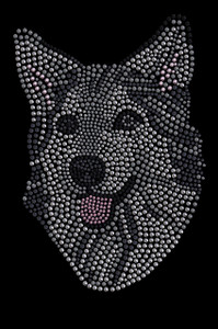 Husky/Tamaskan Face - Women's T-shirt