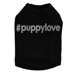 #puppylove - Rhinestone - Dog Tank