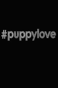 #puppylove (Rhinestone) -  Women's T-shirt