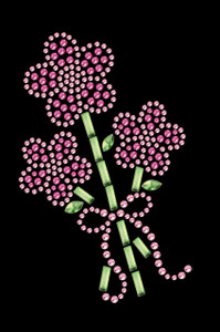 Pink Flower Bouquet - Women's T-shirt