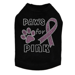 Paws for Pink - Dog Tank