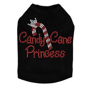 Candy Cane Princess - Black Dog Tank