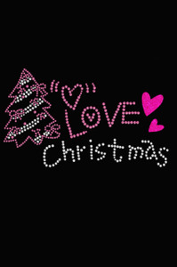 Love Pink Christmas - Women's T-shirt