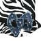 The Diamond Collection - Diva Zebra Dress - closeup.