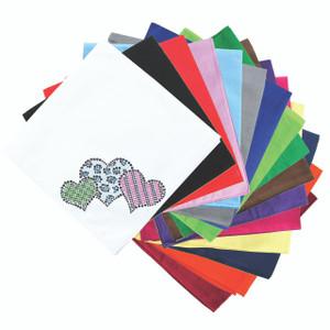 Leopard, Checks, & Stripes Multicolor Hearts - Bandanna