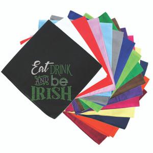 Eat, Drink & Be Irish - Bandanna