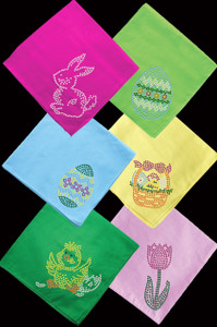 Assortment of Easter Bandannas - Bandanna