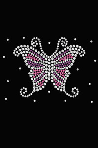Pink & Purple Butterfly - Women's T-shirt