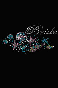 Bride with Seashells- Women's T-shirt