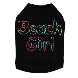 Beach Girl - Dog Tank