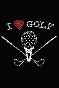 I Love Golf (Large) - Women's Tee