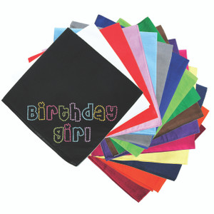 Birthday Girl (Multicolor) - Bandanna