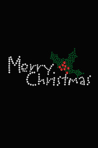 Merry Christmas with Holly - Women's Tee