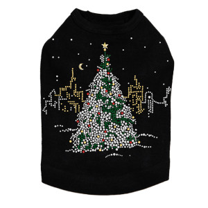 Christmas Tree in the City - Dog Tank