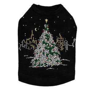 Christmas Tree in the City - Black Dog Tank