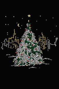 Christmas Tree in the City - Women's Tee