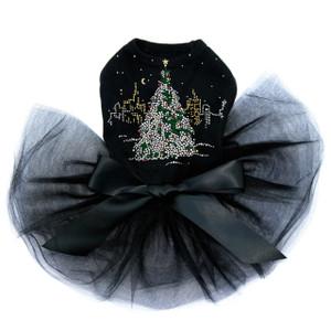 Christmas Tree in the City - Black Tutu