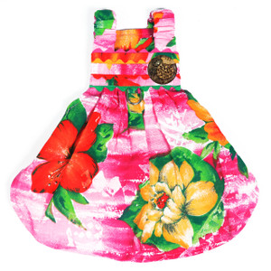 The Lahaina Collection - Pink Hawaiian Dress