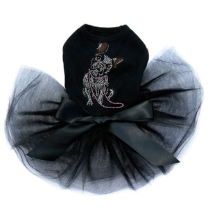 French Bull Dog with Necklace - Tutu