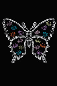 Butterfly with more Butterflies - Women's Tee