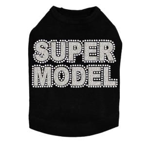 Super Model  (Silver) - Dog Tank